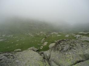 Мъглата на хижа Иван Вазов